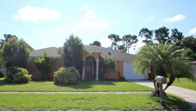 Palm Bay Single Family Home For Sale: 1055 Hooper Avenue NE