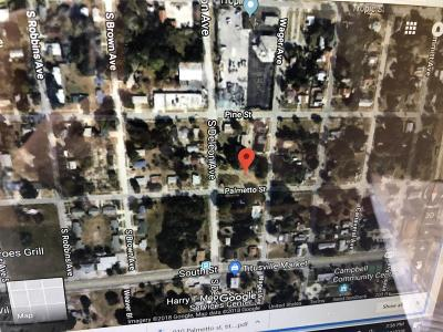 Titusville Residential Lots & Land For Sale: 910 Palmetto Street