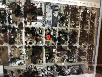 Titusville Residential Lots & Land For Sale: 920 Palmetto Street