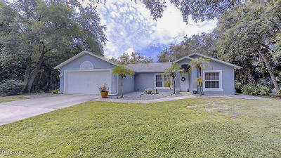 Cocoa Single Family Home For Sale: 5181 Banana Avenue