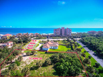 Melbourne Beach Residential Lots & Land Backups: 5610 S Highway A1a #1