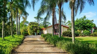 Malabar Single Family Home For Sale: 2060 Atz Road