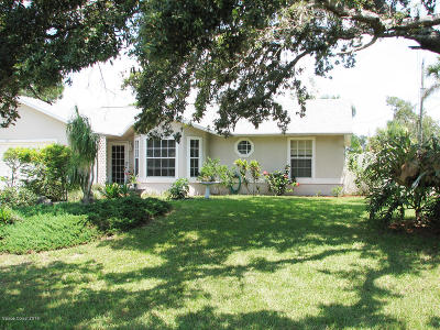 Cocoa Single Family Home For Sale: 4290 Delespine Road