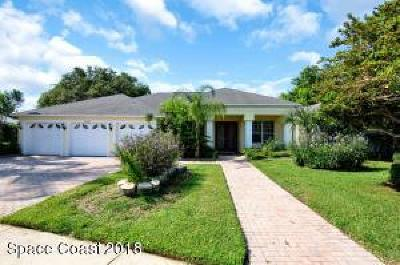 Rockledge Single Family Home For Sale: 1643 Quinn Drive