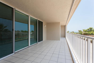 Brevard County Condo For Sale: 3400 Ocean Beach Boulevard #214