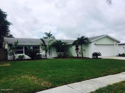 Satellite Beach Single Family Home For Sale: 630 Jamaica Boulevard