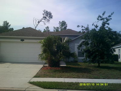Palm Bay FL Single Family Home For Sale: $188,900
