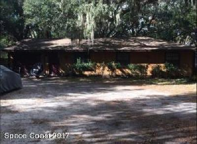 Single Family Home For Sale: 1285 N Tropical Trl N
