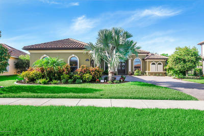 Brevard County Single Family Home For Sale: 3220 Levanto Drive