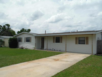 Titusville FL Single Family Home For Sale: $179,900