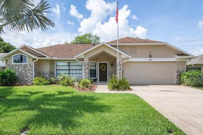 Brevard County Single Family Home For Sale: 897 Pine Baugh Street
