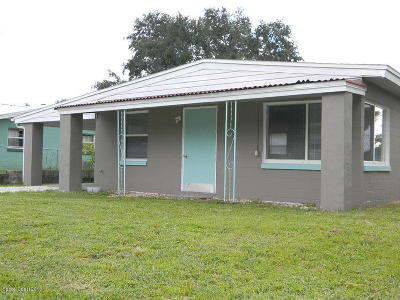 Titusville FL Single Family Home For Sale: $120,000