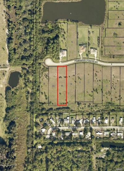 Merritt Island Residential Lots & Land For Sale: 7027 Preserve Pointe Drive