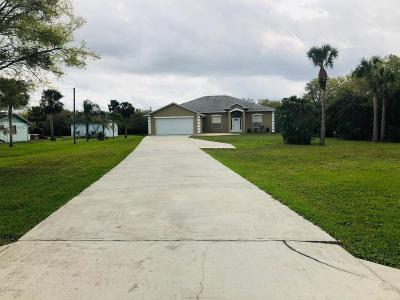 Cocoa Single Family Home For Sale: 5385 Citrus Boulevard