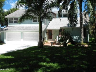 Cocoa Single Family Home For Sale: 57 Greenwood Lane