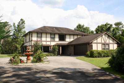 Titusville Single Family Home For Sale: 3975 Pinetop Boulevard