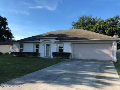 Brevard County Single Family Home For Sale: 3417 Rocky Gap Place