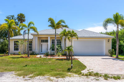 Cape Canaveral Single Family Home For Sale: 139 Oak Lane