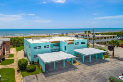 Cocoa Beach Condo For Sale: 3610 Ocean Beach Boulevard #103 B