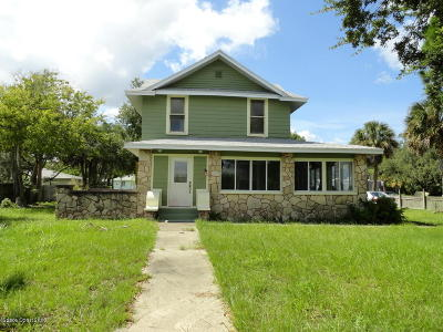 Titusville Single Family Home For Sale: 4340 S Washington Avenue S