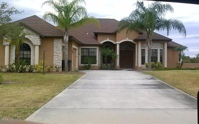 Grant Valkaria Single Family Home For Sale: 4068 Gardenwood Circle