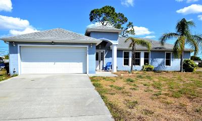 Palm Bay Single Family Home For Sale: 1301 Lamplighter Drive NW