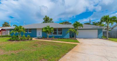Indialantic Single Family Home For Sale: 480 E Riviera Boulevard