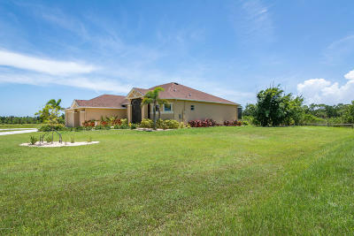 Merritt Island Single Family Home For Sale: 821 Environ Lane