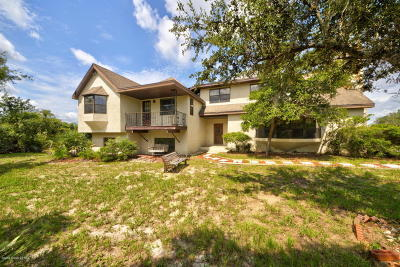 Mims Single Family Home For Sale: 2310 Holder Road