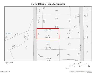 Mims Residential Lots & Land For Sale: Mitchell Avenue