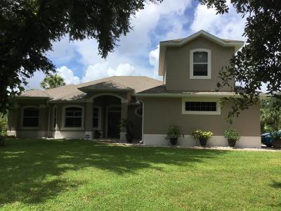 Titusville Single Family Home For Sale: 2881 Long Lake Drive
