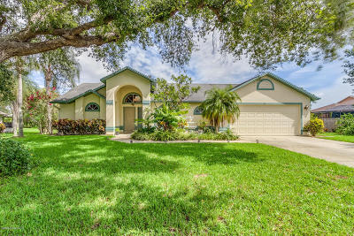 Merritt Island Single Family Home For Sale: 3370 Spartina Avenue