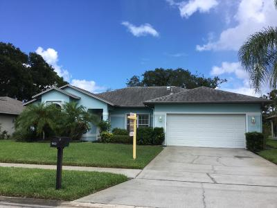 Titusville Single Family Home For Sale: 3615 Sawgrass Drive