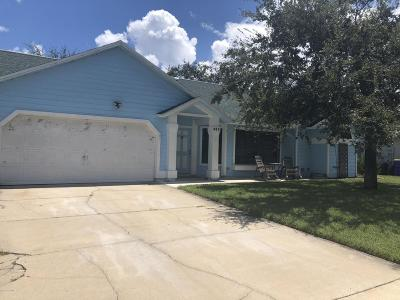 Rockledge Single Family Home For Sale: 885 Pine Baugh Street