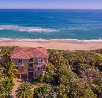 Melbourne Beach Single Family Home For Sale: 7797 Highway A1a
