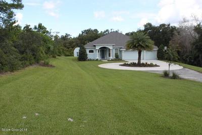 Titusville Single Family Home For Sale: 5750 Barna Avenue