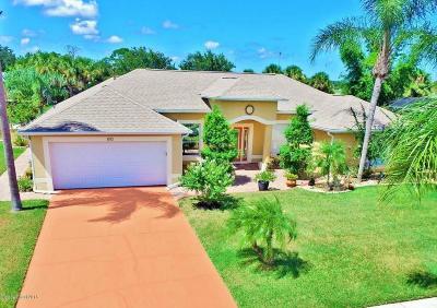 Merritt Island Single Family Home For Sale: 810 Wild Flower Street