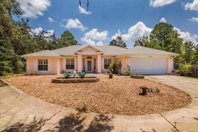 Titusville Single Family Home For Sale: 4865 Barna Avenue
