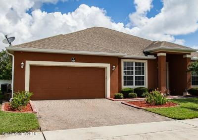 Rockledge FL Single Family Home For Sale: $319,000