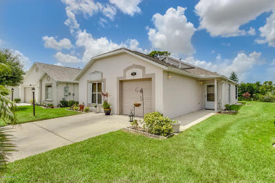 Brevard County Single Family Home For Sale: 2009 Redwood Circle NE