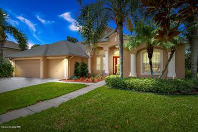 Rockledge Single Family Home For Sale: 4978 Wexford Drive