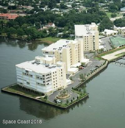 Merritt Island Condo For Sale: 490 Sail Lane #102
