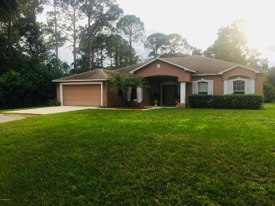 Cocoa Single Family Home For Sale: 3340 Pine Street