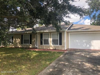 Cocoa Single Family Home For Sale: 6310 Depot Avenue