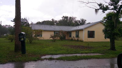 Brevard County Single Family Home For Sale: 3030 Kennedy Street
