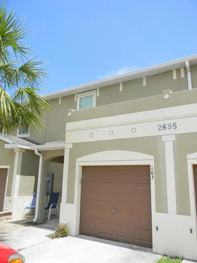 Melbourne FL Townhouse For Sale: $179,900