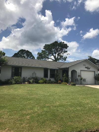 Palm Bay FL Single Family Home For Sale: $169,000