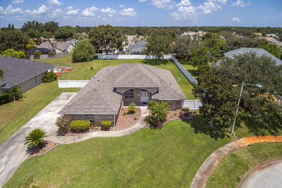 Rockledge Single Family Home For Sale: 1306 Avalon Drive