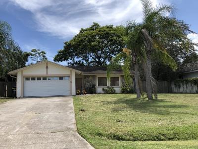 Palm Bay Single Family Home For Sale: 2300 Oaklyn Street NE