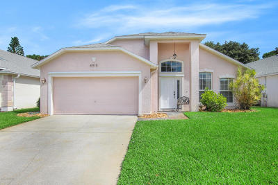 Melbourne FL Single Family Home For Sale: $275,000